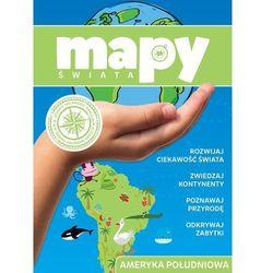 Mapy świata Ameryka Południowa - Praca zbiorowa (opr. miękka)