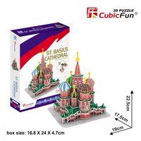 Puzzle, Puzzle 3D Katedrála sv. Bazila - 92 dílků neuveden