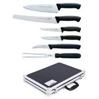 Pozostała gastronomia, Zestaw noży 6 elementów + walizka
