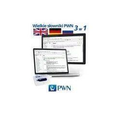 Wielki multimedialny słownik PWN 3w1 angielski niemiecki rosyjski