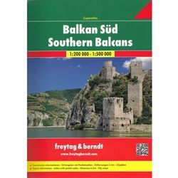 Southern Balcans, 1:200 000 1:500 000 (opr. miękka)