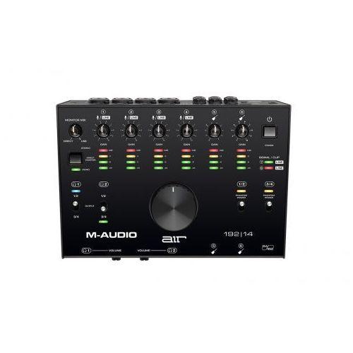 Pozostały sprzęt estradowy, M-Audio AIR 192/14 interfejs audio USB Płacąc przelewem przesyłka gratis!