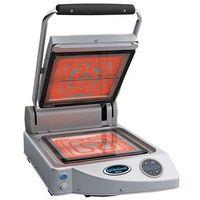 Grille gastronomiczne, Ceramiczny grill kontaktowy | cyfrowy | 1600W | 230V | 330x460x(H)180mm