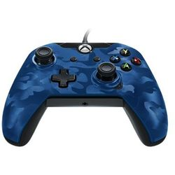 PDP Wired Camo Blue Controller XBOX One - Gamepad - Microsoft Xbox One S