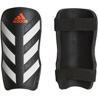 Piłka nożna, Ochraniacze piłkarskie adidas Everlite czarno-białe CW5559