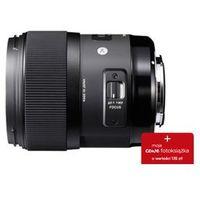 Konwertery fotograficzne, Sigma 35mm f/1.4 A HSM DG (Sony)