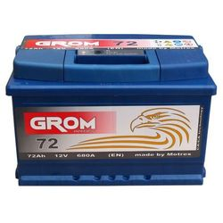 Akumulator GROM Prestige 72Ah 680A EN niska
