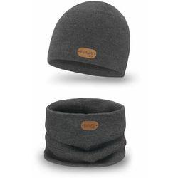 Komplet chłopięcy czapka i komin wiosenno-jesienny PaMaMi