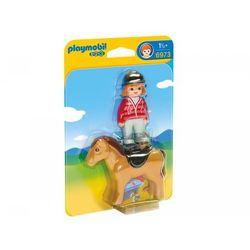 Playmobil Jeździec z koniem 6973