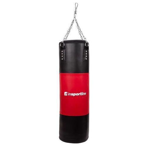 Gruszki i worki treningowe, Worek bokserski inSPORTline 50-100 kg - Kolor Czarno-czerwony