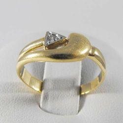 Złoty pierścionek P1493
