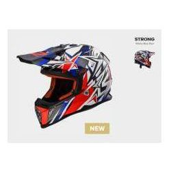 KASK LS2 MX437 FAST STRONG W/BLUE RED