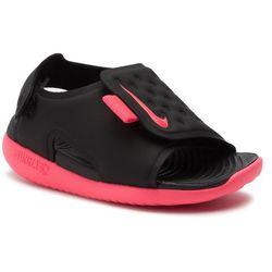 Sandały NIKE - Sunray Adjust 5 (TD) AJ9077 002 Black/Racer Pink/White