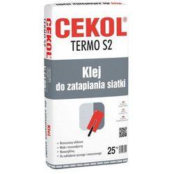 Klej do zatapiania siatki TERMO S2 25 kg CEKOL