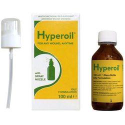 Olejek HyperOil do wszystkich rodzajów ran, owrzodzeń, odleżyn - atomizer 100 ml