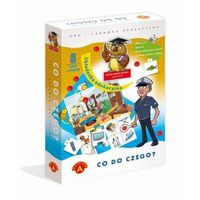 Gry dla dzieci, 'ALEXANDER' Co do czego -układanka edukacyjna (5906018013252)