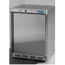 Szafa mroźnicza ze stali nierdzewnej podblatowa   120L   -18 do -22°C   600x585x(H)855mm