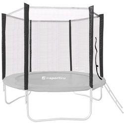Ochronna siatka do trampoliny 183 cm na 6 tyczek, Czarny