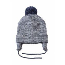 Czapka zimowa wiązana dla chłopca 1X3515 Oferta ważna tylko do 2019-11-15