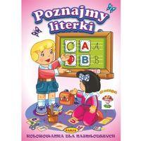 Książki dla dzieci, Kolorowanka dla najmłodszych. Poznajemy literki (opr. miękka)
