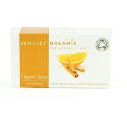 Ożywiające mydło z cynamonem i goździkiem - Bentley Organic