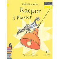 Książki dla dzieci, Czytam sobie. Poziom 1. Kacper i Plaster + zakładka do książki GRATIS (opr. broszurowa)