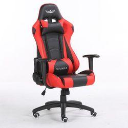 Fotel gamingowy NORDHOLD - YMIR - czerwony