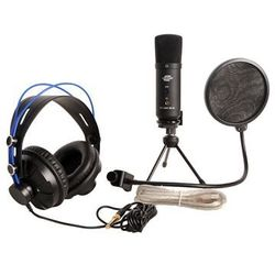 Crono Homerecording Starter Set zestaw do nagrywania (mikrofon, słuchawki, pop filtr, statyw)