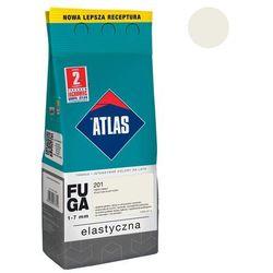 Fuga cementowa 201 ciepły biały 2 kg ATLAS