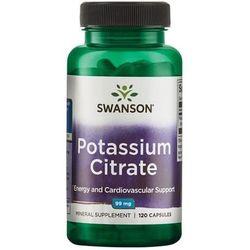 Swanson Cytrynian potasu 99mg - (120 kap)