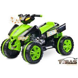 Quad Raptor pojazd na akumulator Toyz Zielony