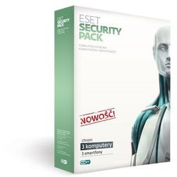 ESET SECURITY PACK BOX -3 STAN / 12M +3 SMARTFONY / 12M