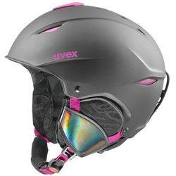 Uvex Primo Czarny 55-59 cm Różowy 2018-2019