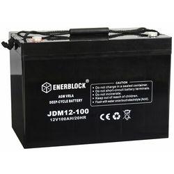 Akumulator ENERBLOCK AGM Marine JDM12-100 12V 100Ah