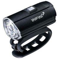 Oświetlenie rowerowe, LAMPA PRZEDNIA INFINI TRON 300 Black USB - I-281P-B- Zamów do 16:00, wysyłka kurierem tego samego dnia!