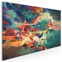 Obrazy, Archipelag marzeń - nowoczesny obraz na płótnie - 120x80 cm