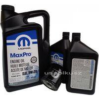Oleje silnikowe, Olej MOPAR 5W20 oraz oryginalny filtr Jeep Grand Cherokee 5,7 V8 2014-