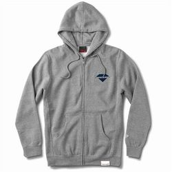 bluza DIAMOND - Viewpoint Zip Hoodie Sp18 Heather Grey (HTGR) rozmiar: 2X