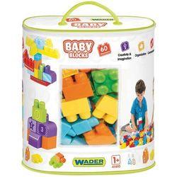 WADER 41410 BABY BLOCKS Torba 60szt
