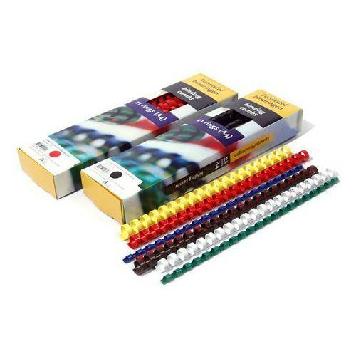 Grzbiety do bindownic, Grzbiety do bindowania plastikowe, białe, 51 mm, 50 sztuk, oprawa do 510 kartek - Super Ceny - Rabaty - Autoryzowana dystrybucja - Szybka dostawa - Hurt