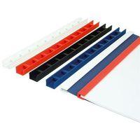 Pozostały sprzęt biurowy, Listwy do bindowania zatrzaskowe Greenbindery Argo, białe, 25 mm, 50 sztuk, oprawa do 210 kartek - Rabaty - Porady - Hurt - Negocjacja cen - Autoryzowana dystrybucja - Szybka dostawa
