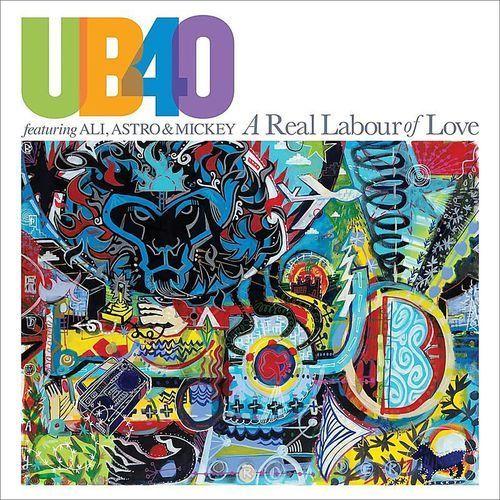 Pozostała muzyka rozrywkowa, A REAL LABOUR OF LOVE - UB40 (Płyta CD)