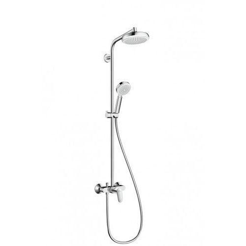Hansgrohe Crometta komplet prysznicowy crometta 160 1jet z baterią jednouchwytową biały/chrom - 27266400