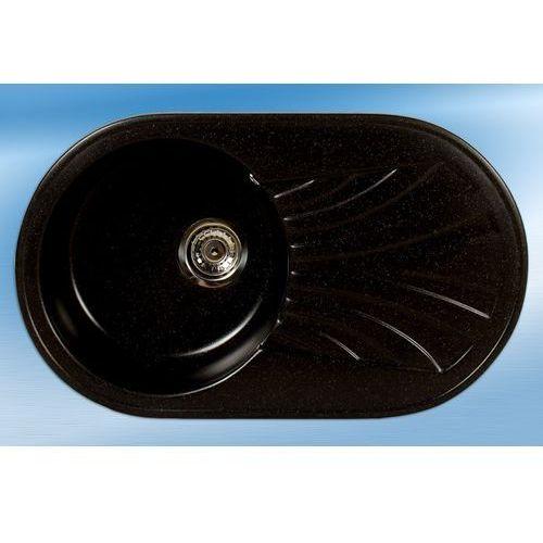 Zlewozmywak aron czarny metalik 08m marki Brenor
