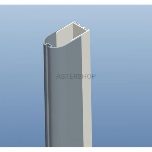 Sanotechnik Profil ścienny z uszczelką magnetyczną, 4-6x195 cm d1000