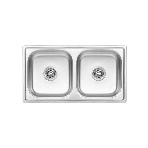 Zlewozmywak stalowy STANDARD / SKS_320T KUCHINOX