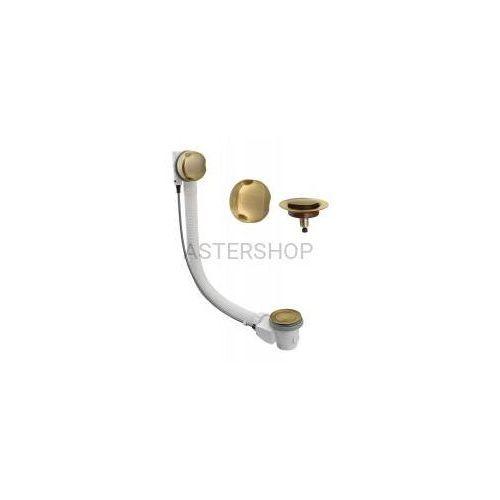 Syfon automatyczny do wanny model 06 475 mm w kolorze brąz antyczny 061210092 marki Silfra