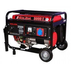 Agregat prądotwórczy, generator 3000 jedna faza z rozruchem el. 3kw marki Holida