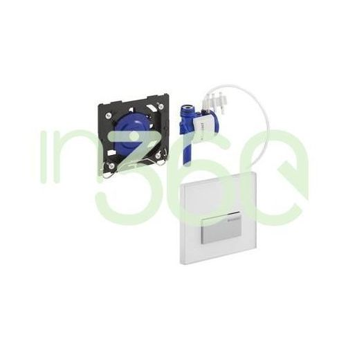 Geberit HyTouch pneumatyczny zawór spłukujący do pisuaru, ręczny, Sigma50, biały 116.016.11.5