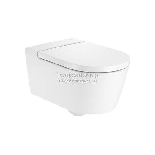 inspira round miska wc wisząca rimless a346527000 marki Roca